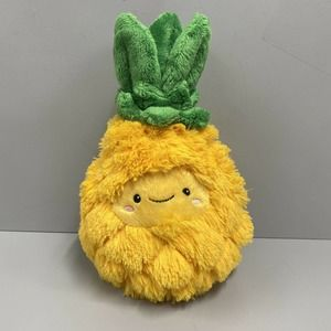 """Squishable Comfort Food Pineapple 15"""" Plush Fluffy Soft Excellent Condition"""